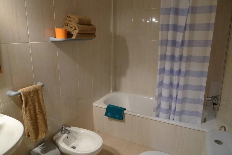 Location de vacances - Appartement à Oropesa del Mar - Salle de bain appt 2/3