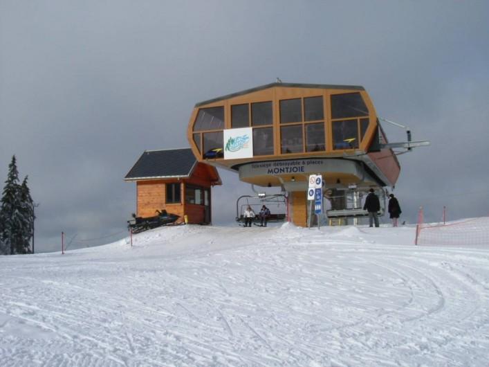 Location de vacances - Appartement à Orbey - Ski alpin ou de fond  à proximité immédiate