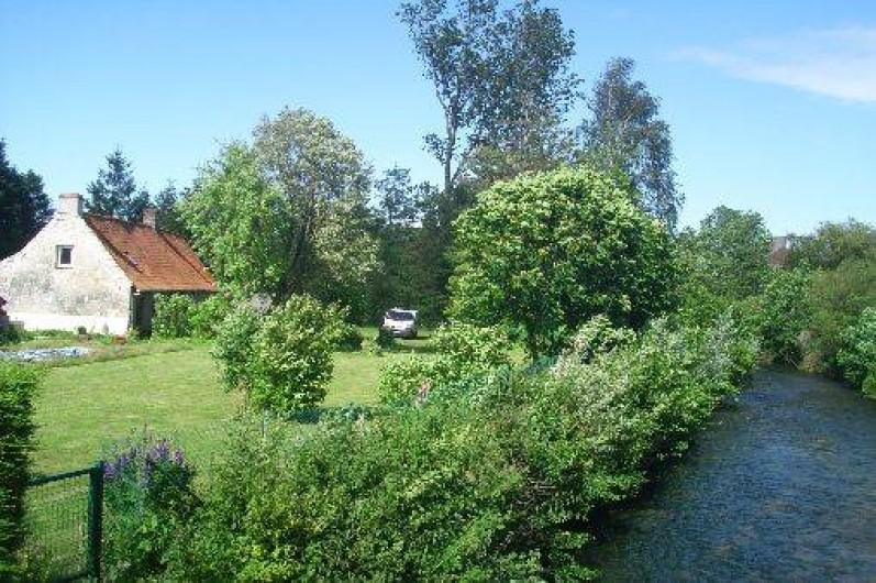 """Location de vacances - Gîte à Recques-sur-Hem - """"La Pannerie"""" vue du pont"""