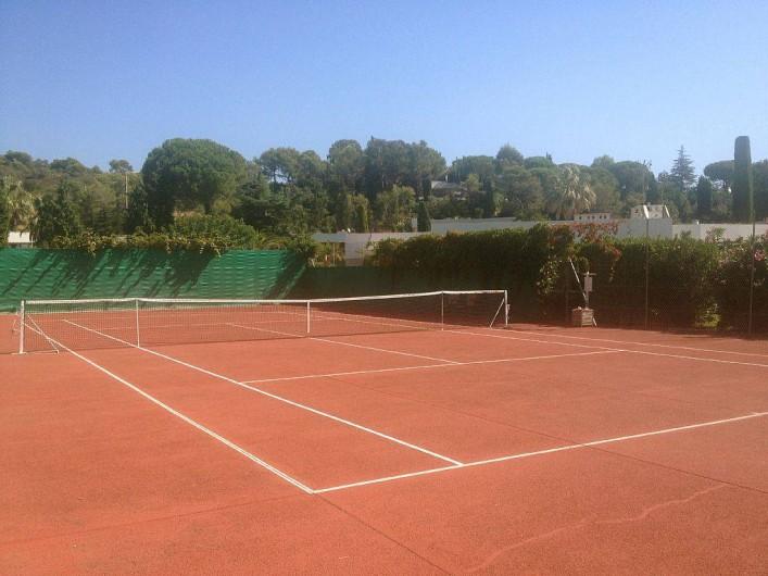Location de vacances - Villa à Biot - Tennis