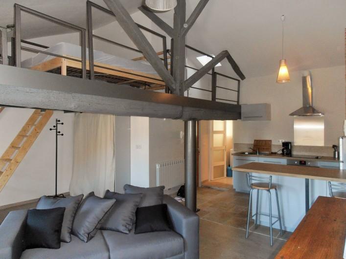 Location de vacances - Appartement à Cahors - Pièce de vie