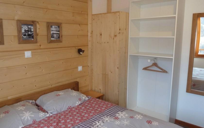 Location de vacances - Gîte à Valmeinier - Chambre 1