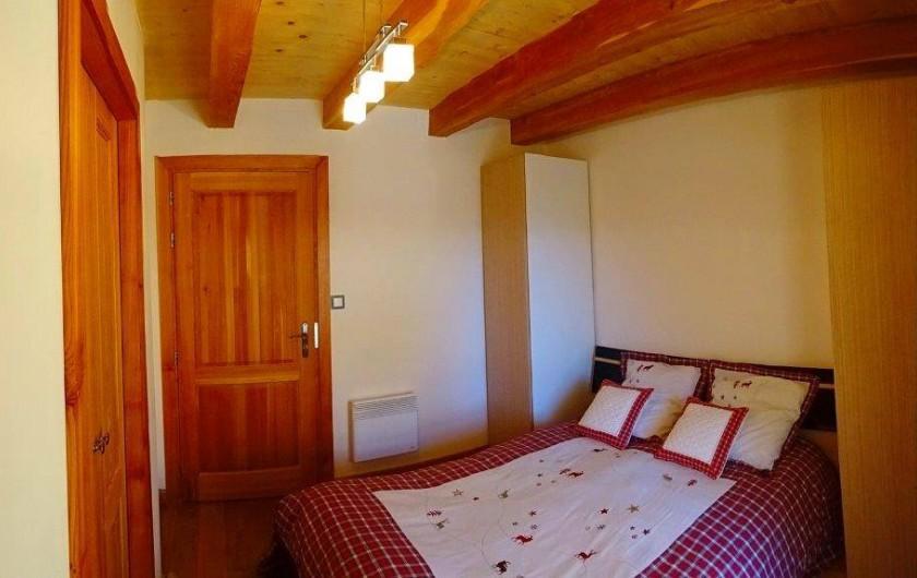 Location de vacances - Appartement à Saint-Chaffrey - La 3e chambre avec un lit double