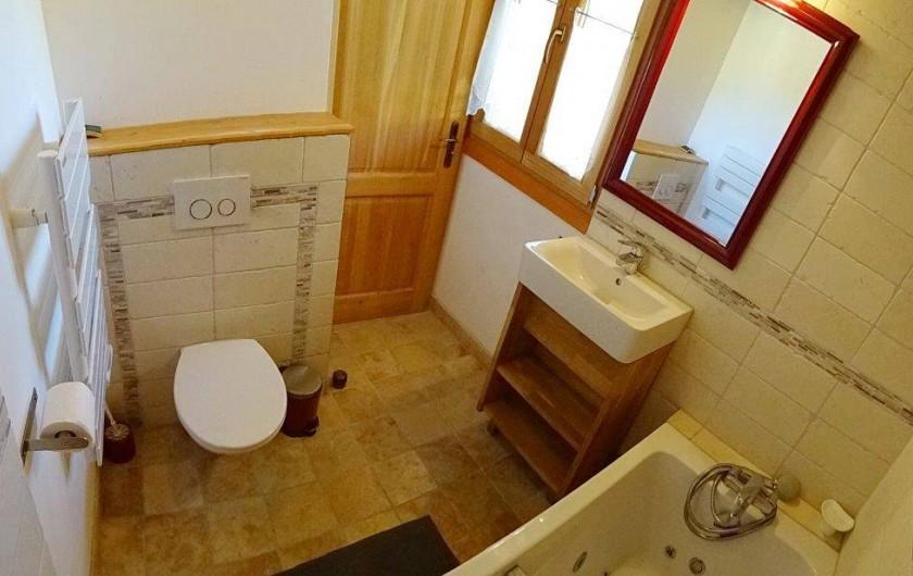 Location de vacances - Appartement à Saint-Chaffrey - salle de bain de la chambre 2