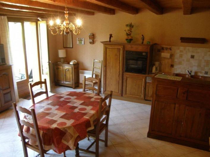 Location de vacances - Maison - Villa à Sainte-Énimie - Salle à Manger