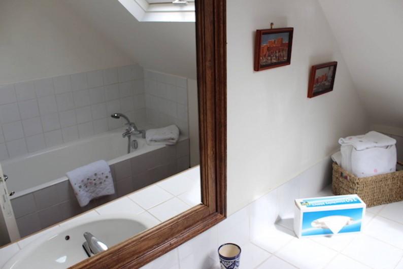 Location de vacances - Maison - Villa à Manneville-la-Pipard - SDB 2EME ETAGE
