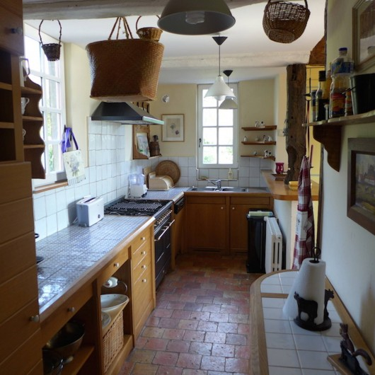 Location de vacances - Maison - Villa à Manneville-la-Pipard - CUISINE US