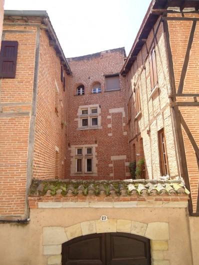 Location de vacances - Appartement à Albi - Vue de la fenêtre de la chambre N°1