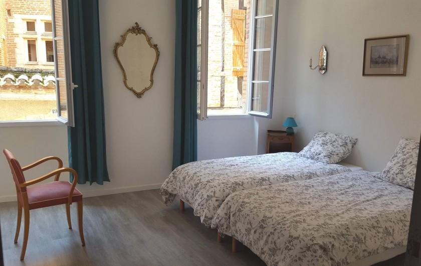 Location de vacances - Appartement à Albi - Chambre N° 1