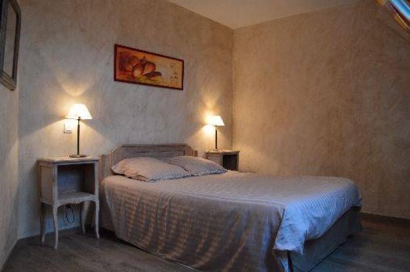 Location de vacances - Maison - Villa à Les Moitiers-d'Allonne - chambre étage