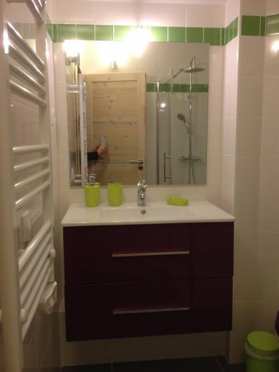 Location de vacances - Appartement à Le Corbier - Etage / salle de bain