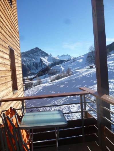 Location de vacances - Appartement à Le Corbier - Vue depuis le balcon