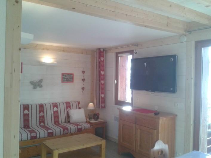 Location de vacances - Appartement à Le Corbier - séjour