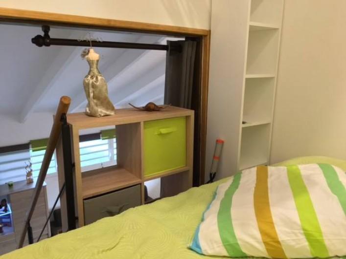 Location de vacances - Studio à Les Trois-Îlets - Lit en mezzanine