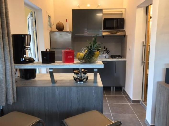Location de vacances - Studio à Les Trois-Îlets - La cuisine