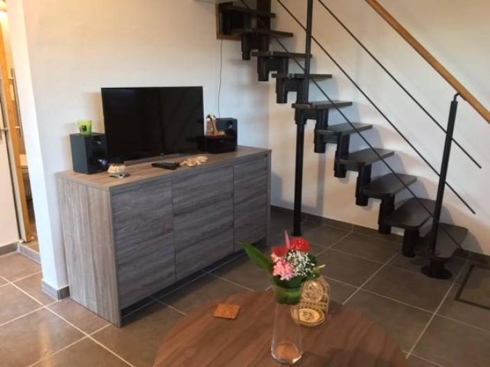 Location de vacances - Studio à Les Trois-Îlets - Commode TV/HIFI