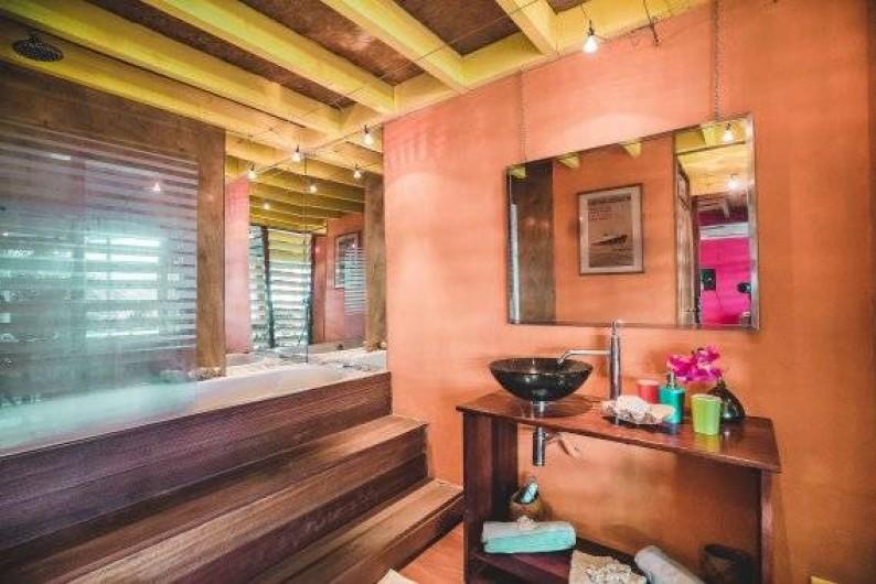 Location de vacances - Studio à Saint-Leu - la salle de bain