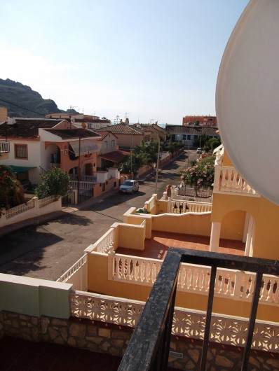 Location de vacances - Appartement à Calabardina - vue du balcon