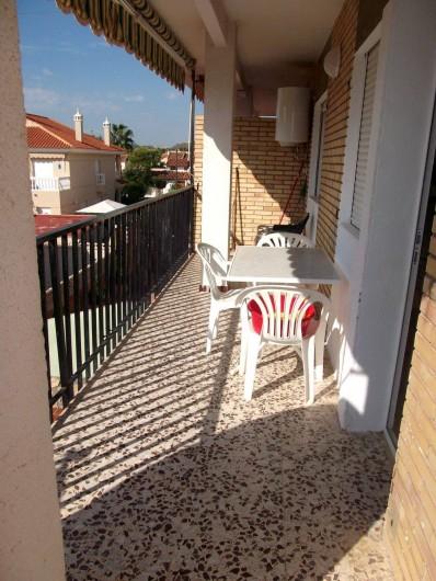 Location de vacances - Appartement à Calabardina - balcon
