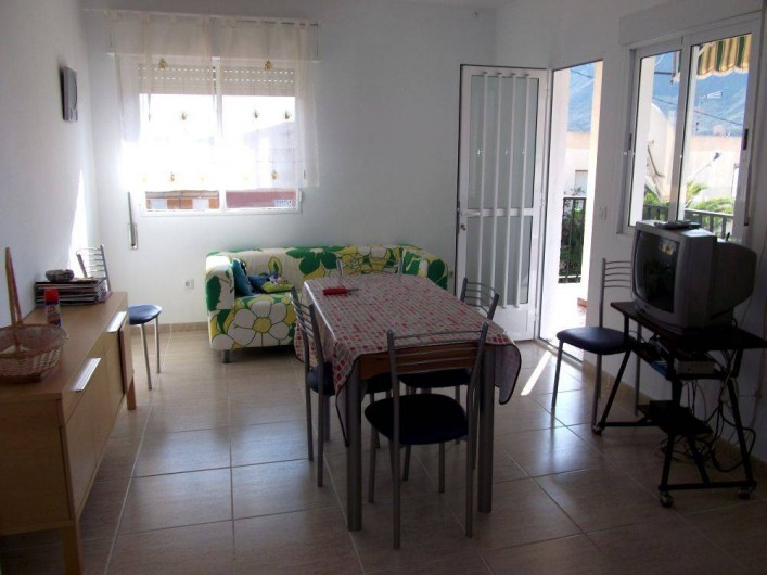 Location de vacances - Appartement à Calabardina - salle de séjour