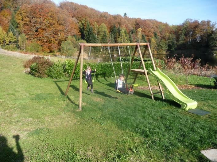 Location de vacances - Gîte à La Rosière - aire de jeux
