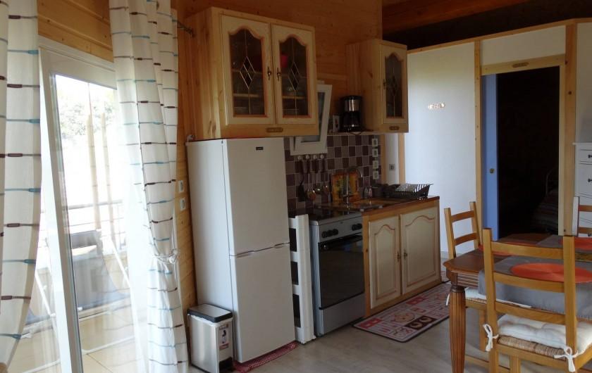 Location de vacances - Appartement à Le Barroux - Coin cuisine
