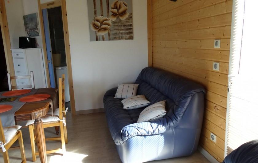 Location de vacances - Appartement à Le Barroux - Côté séjour