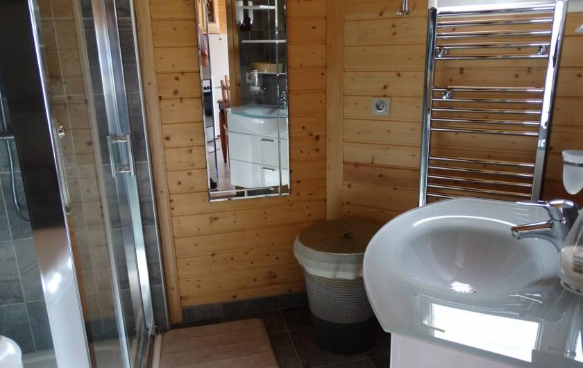 Location de vacances - Appartement à Le Barroux - Salle de bain