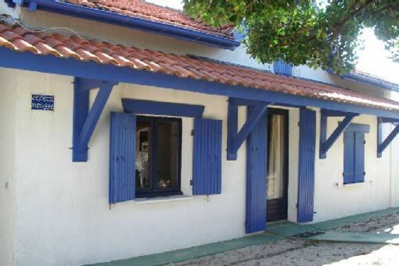Location de vacances - Maison - Villa à Lacanau - façade