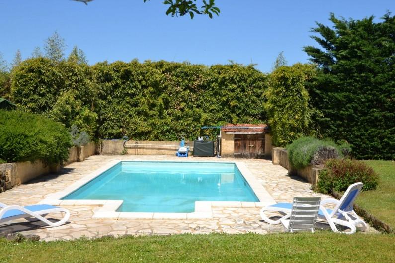 Location de vacances - Gîte à Sainte-Mondane - La piscine