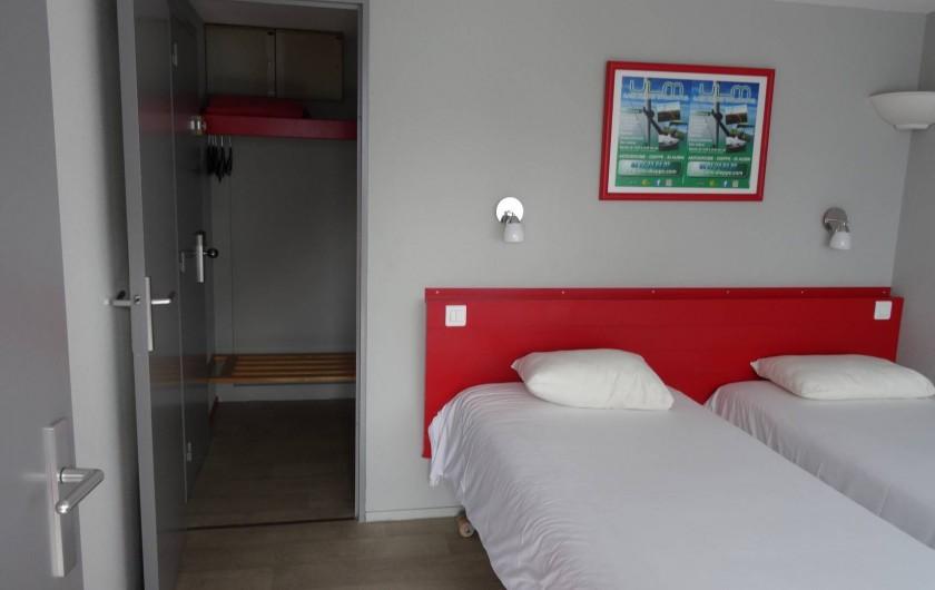 Location de vacances - Hôtel - Auberge à Saint-Aubin-sur-Scie - chambre Twin (2 lits)