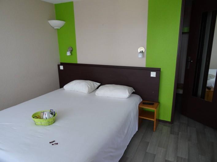 Location de vacances - Hôtel - Auberge à Saint-Aubin-sur-Scie - Chambre Supérieure, avec son plateau de courtoisie