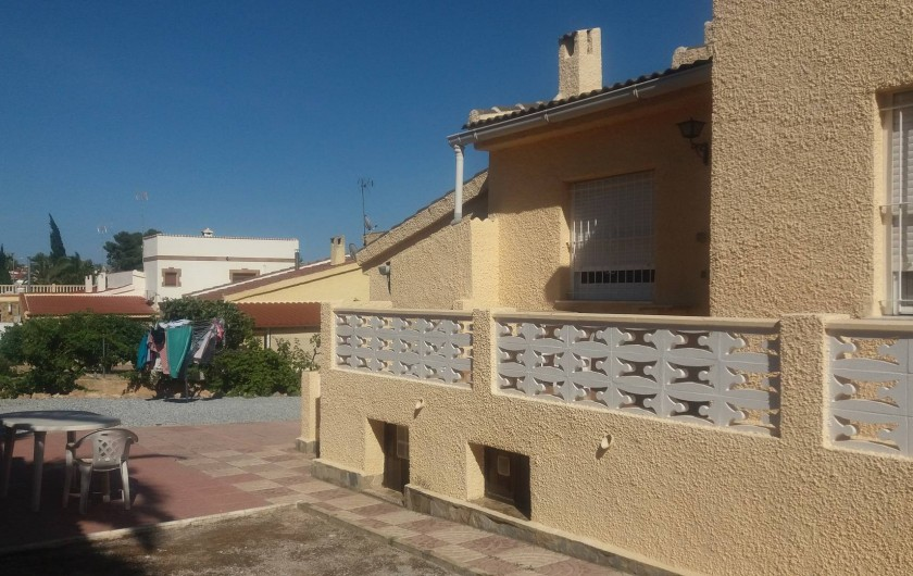 Location de vacances - Villa à Ciudad Quesada - terasse arrière