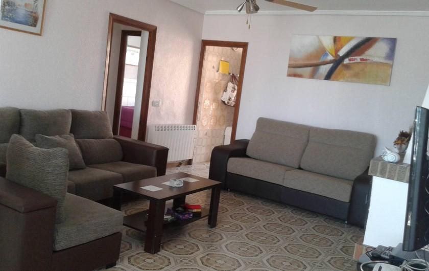 Location de vacances - Villa à Ciudad Quesada - salon avec canapé lit
