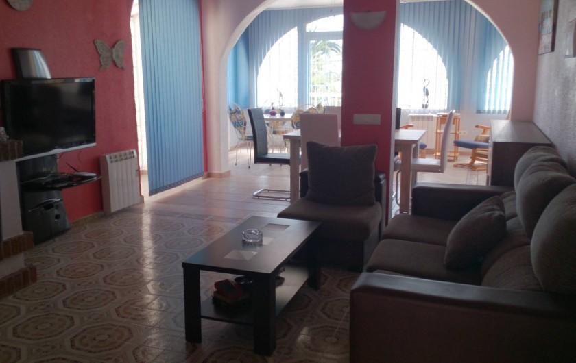 Location de vacances - Villa à Ciudad Quesada - vue vers le patio