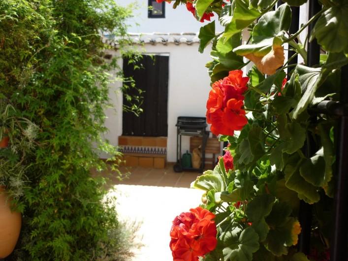 Location de vacances - Gîte à Fuentes de Cesna - La cour privée, Casita Perdiz