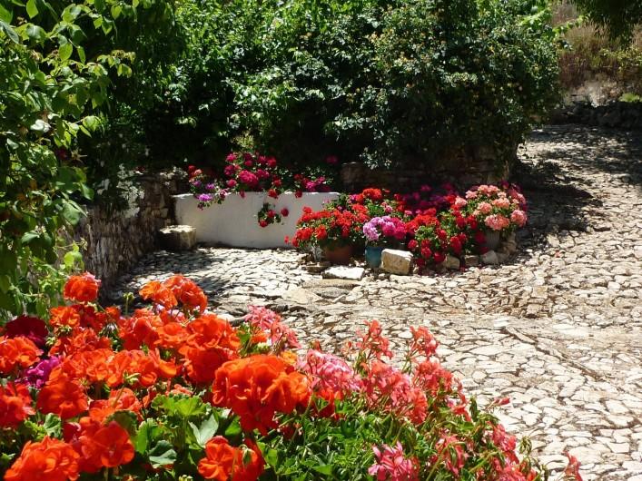Location de vacances - Gîte à Fuentes de Cesna - Le jardin communal