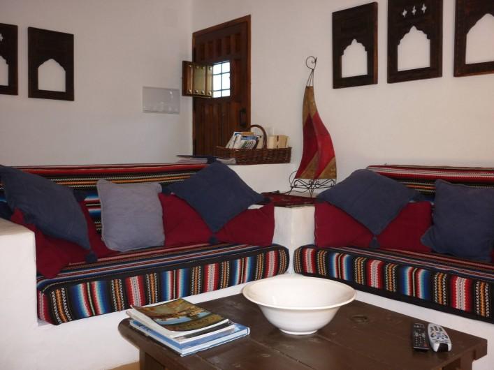 Location de vacances - Gîte à Fuentes de Cesna - Le salon, Casita Perdiz