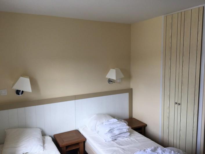 Location de vacances - Villa à Quend Plage - 2 ;kits 1 personnes regroupables en 1 lit 2pers