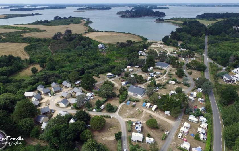 Location de vacances - Chalet à Arzon - Camping Le Tindio***