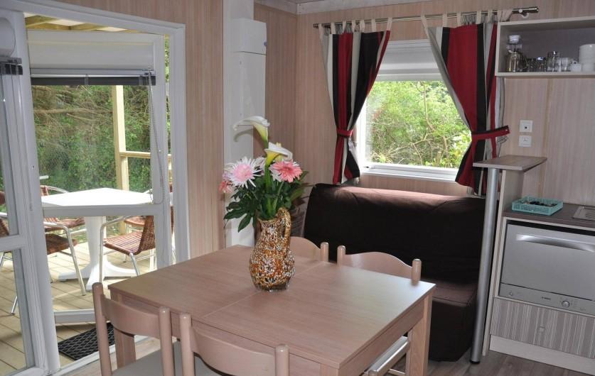 Location de vacances - Chalet à Arzon - Cottage Cannelle Intérieur 1
