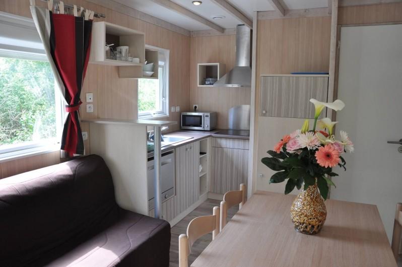 Location de vacances - Chalet à Arzon - Cottage Cannelle intérieur 2