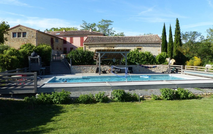 Location de vacances - Gîte à Carcassonne - Vue d'ensemble domaine