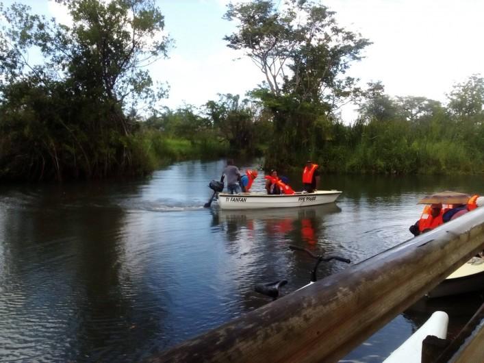 Location de vacances - Villa à Morne-À-l'Eau - peche de loisirs en bateau à moteur thermique