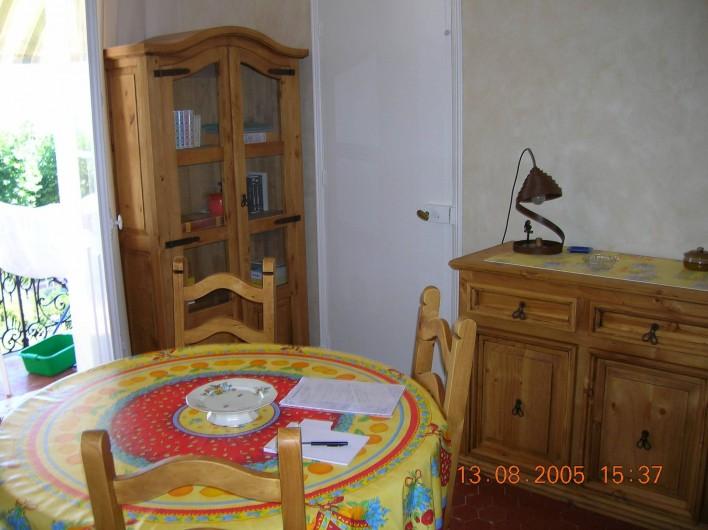 Location de vacances - Appartement à Vallauris - salon
