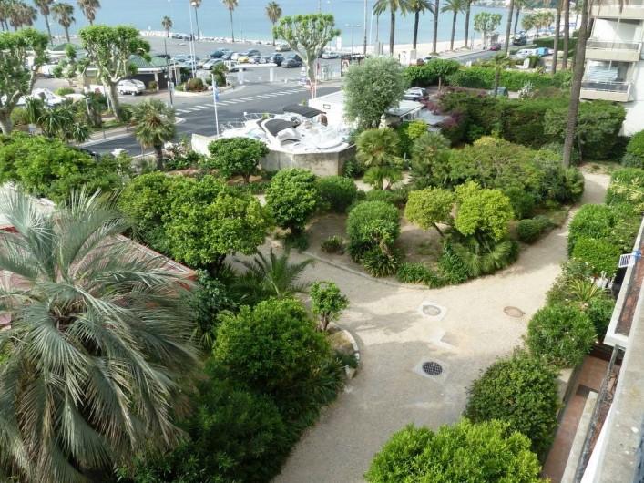 Location de vacances - Appartement à Vallauris - le jardin