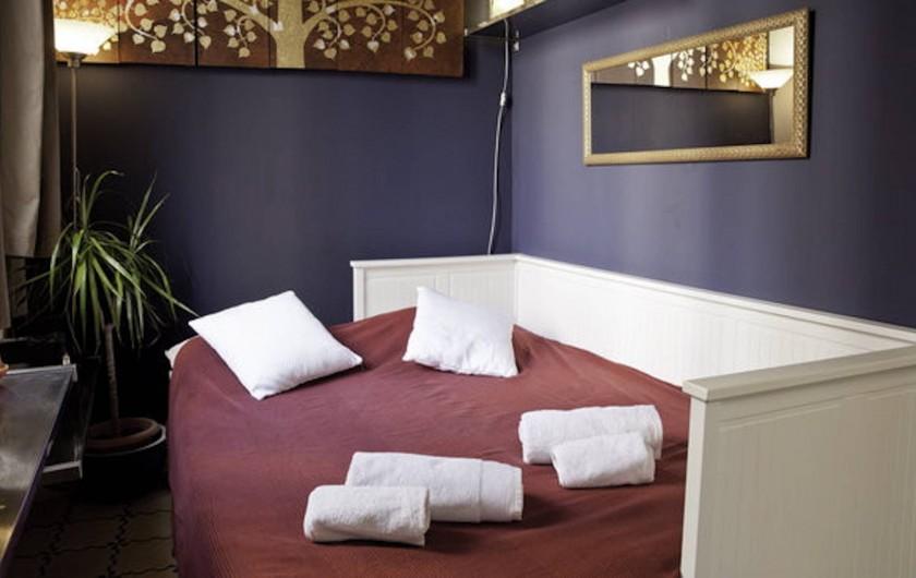 Location de vacances - Appartement à Barcelone - Canapé lit double