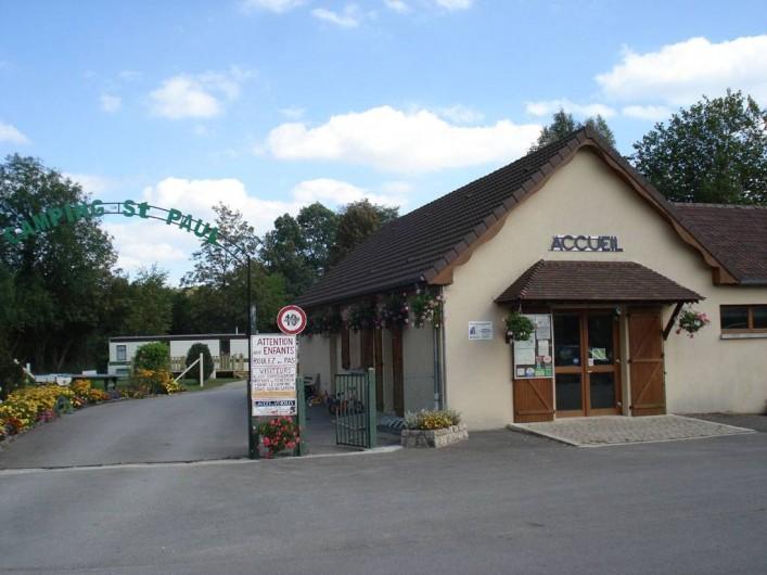 Location de vacances - Camping à Lyons-la-Forêt - Accueil