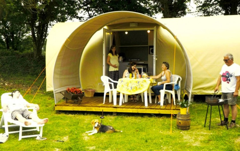 Location de vacances - Camping à Lyons-la-Forêt - Coco-sweet 2-4 personnes