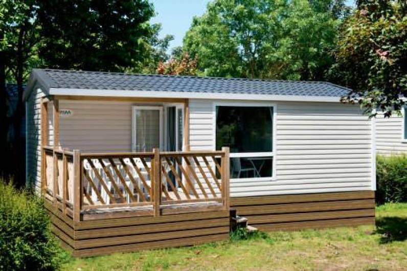 Location de vacances - Camping à Lyons-la-Forêt - Mobile home Loggia 4-6 personnes